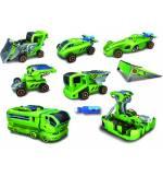 Powerplus BUTTERFLY Εκπαιδευτικό υβριδικό ηλιακό κ Μπαταριών 6 σε 1 παιχνίδι αυτοκίνητων