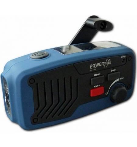 Ηλιακό FM Επαναφορτιζόμενο με Δυναμό USB ΡΑΔΙΟ ΦΑΚΟΣ ΦΟΡΤΙΣΤΗΣ