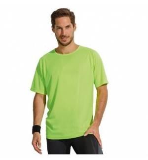 Sol's Sporty  11939 Unisex t-shirt Polyester Δίχτυ 140 γρ. 100% πολυέστερ