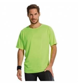 Sol's Sporty - 11939 Unisex t-shirt Polyester Net 140 gr. 100% polyester