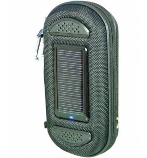 3 in 1 Solar USB Powered Powerbank Charger Speaker Mobile Pouch
