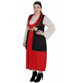 Παραδοσιακή Στολή ΒΛΑΧΟΠΟΥΛΑ Εφηβική Γυναικεία ΒΛΑΧΑ MARK578