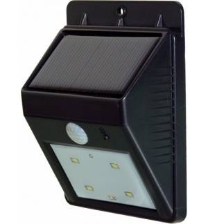 Powerplus Cat Solar 4 LED PIR Sensor Outdoor Light Daylight 2 Ph