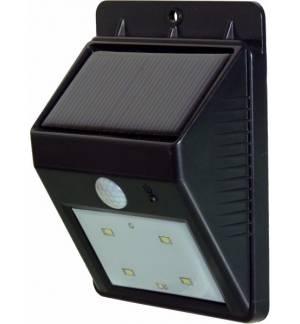 Powerplus Cat Solar 4 LED PIR Sensor Outdoor Light Daylight 2 Ph