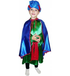 Christmas Costume Kids Magician 4-10 years MARK650