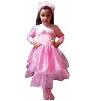 Christmas Costume kids Pink Wish Girl Joy 4-8 years MARK765