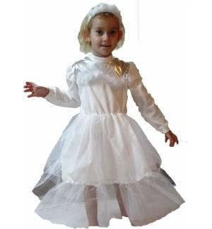 Christmas Costume kids Snow Girl 2-8 years MARK653