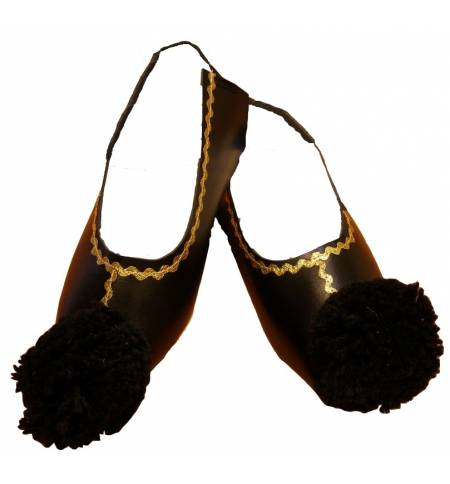 Greek Traditional Costumes accessory Cowls TSAROUCHIA Shoe Cover