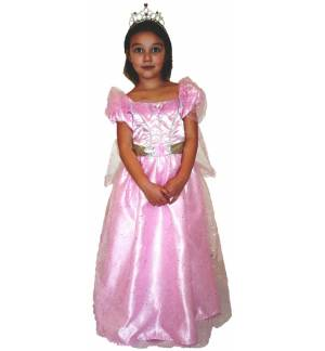 Carnival Halloween Costume kids Pink Princess 4-10 years MARK770