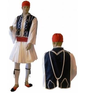 Παραδοσιακή Στολή Τσολιά με Λευκά Σιρίτια 2-4 Ετών MARK773 Τσολιάς