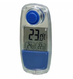 POWERplus Parrot Indoor Outdoor LCD SOLAR THERMOMETER