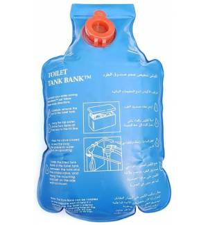 Conservation Water Saving Toilet Tank Bank Cistern Conserving Insert