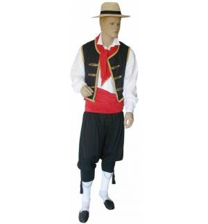 Greek Traditional Costume Corfiot male man men Corfu MARK751