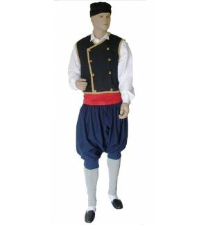 Greek Traditional Costume KEFALONITIS 6-12 years old Kefalonia M