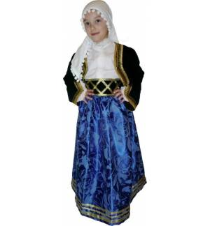 Greek Traditional Costume CRETAN Girl Chania 2 Kritikopoula MARK772