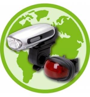 Φακός Ποδηλάτου / Φορτιστής με δυναμό, δεν χρειάζεται μπαταρίες