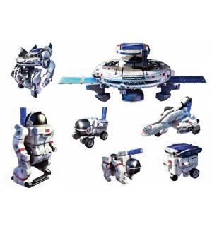 Εκπαιδευτικό 7 σε 1 ηλιακό υβριδικό παιχνίδι Space Explorer Powe