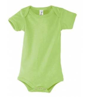 Sol's Bambino 00583 Baby Body Suit 1X1 Rip 180 gr. 100% combed Ringspun cotton