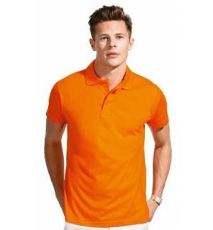 Sol's Prescott Men 11377 , 100% semi-combed Ringspun cotton, Reinforcing tape on neck. Cut and sewn