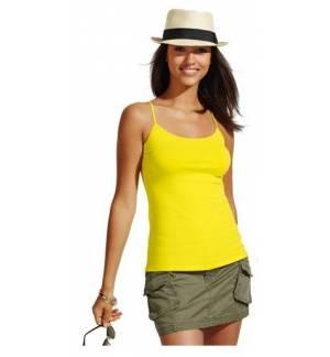 Sol's Joy 01184 Women's tank top with spaghetti straps 95% combed, Ringspun cotton, 5% elastane