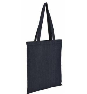 Sol's fever  02112 Τσάντα αγοράς Denim 8 oz. 70% βαμβάκι - 30% πολυέστερ