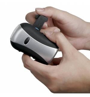 Επαναφορτιζόμενος φακός LED δυναμό υψηλού φωτισμού 0,5w PP Puma