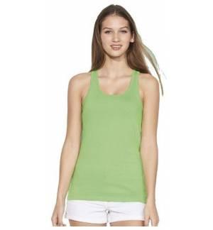 Sol's Justin Women 11465 Γυναικείο αμάνικο μπλουζάκι 100% βαμβάκι Ringspun σεμί-πενιέ