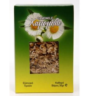 CHAMOMILE DELFI 30gr Greek Product Herbs Hamomili Herb Botanical