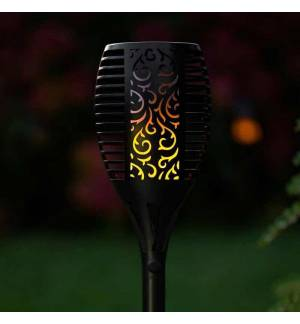 POWERplus Dragon Solar powered FLAME EFFECT GARDEN LIGHT