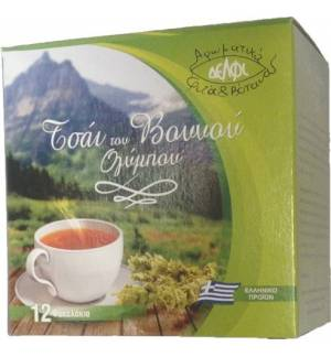 Greek mountain tea Olympus 12TEA BAGS 18 gr.