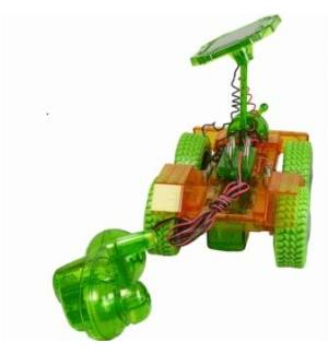 Grasshopper Hybrid Power Solar & Dynamo EDUCATIONAL TOY CAR POWE