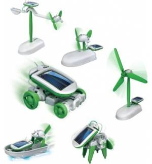 POWERplus® Chameleon Educational Line 6 in 1 solar Toy Set