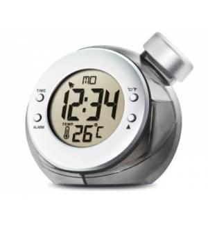 Ρολόι Ξυπνητήρι Θερμόμετρο Ημ λειτουργεί με Νερό H2O Alarm Clock
