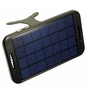 Φορητός ηλιακός φορτιστής με 2 θήρες USB 5V 2W Output. Πάνελ 3W.