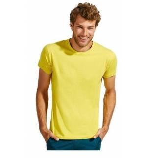 Sol's Regent Fit 00553 Ανδρικό t-shirt κυλινδρικό με στενή γραμμή 100% βαμβάκι Ringspun σεμί-πενιέ
