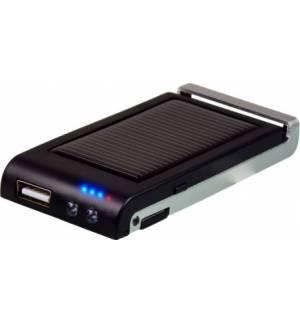 Powerplus Colibri Ηλιακός USB Φορτιστής Powerbank φως LED, φακός
