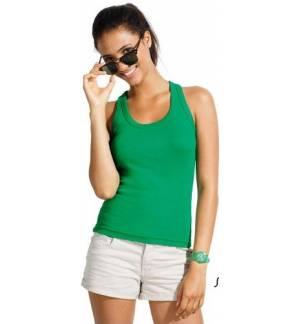 "Sol's Coconut - 11490 Γυναικείο αμάνικο t-shirt μπλουζάκι με αθλητική πλάτη σε σχήμα ""Τ"" 220 γρ. 100% βαμβάκι"