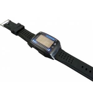 Ηλιακό USB ρολόι χειρός LED φορτιστής POWERBANK Watch PowerPlus