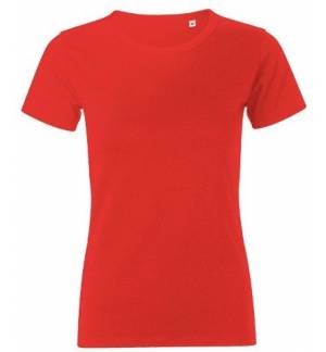 Sol's 01837 Murphy Women's round-neck T-shirt Jersey 200grs - 100% combed Ringspun cotton