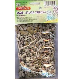 Sage Salvia Trilova Evripos Greek Natural Product 40gr. 1.4oz To