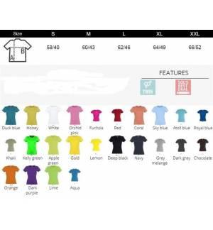 Sol's Miss 11386 WOMEN'S T-SHIRT 150gr 100% cotton 24 Colours