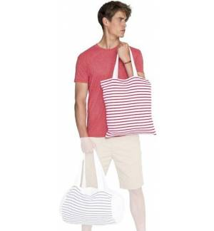 Sol s Luna 02097 Τσάντα αγοράς ριγέ σε Jersey 35x42cm 100% βαμβάκι ... 7496e431c42