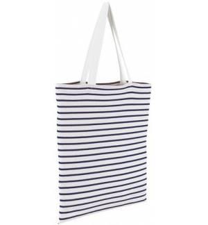 Sol's Luna 02097 Τσάντα αγοράς ριγέ σε Jersey 35x42cm 100% βαμβάκι