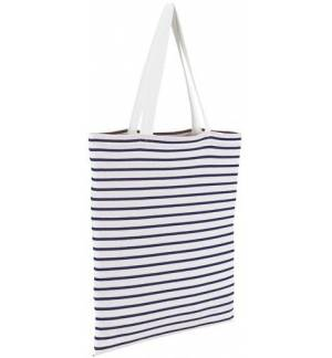 Sol's Luna 02097 Striped Jersey shopping bag 100% cotton 35 x 42cm