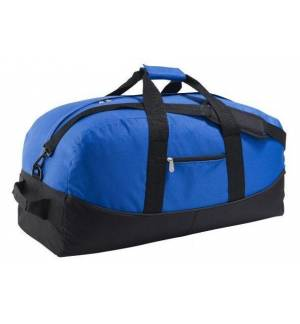 STADIUM 72c 2-COLOUR 600D POLYESTER TRAVEL / SPORTS BAG