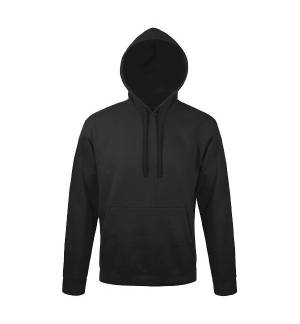 145 Adults hooded sweat-shirt 65% polyester - 35% cotton, 270 gr