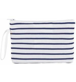 Sol's Aurora 02086 Striped Jersey case bag 100% cotton 23 x 15,5cm