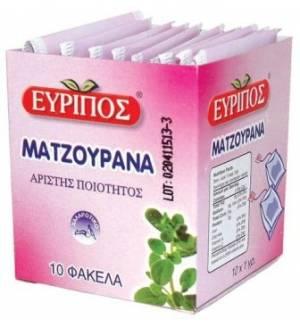 Ματζουράνα Εύριπος 10 Φάκελα Φυσικό Χαλαρωτικό Τσάι Αιγύπτου Άρι