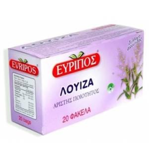 Τσάι Λουΐζα Εύριπος 20 Φάκελα Φυσικό Προϊόν Άριστης Ποιότητος