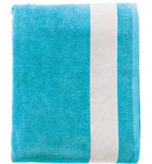 BEACH BICOULOURED BIG TOWEL SOL'S LAGOON 89006 VELVET COTTON sof